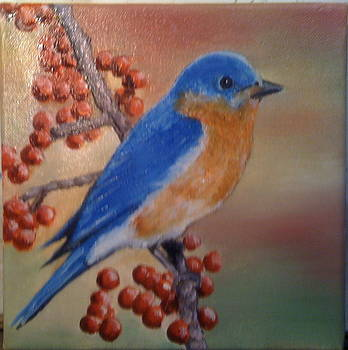 Bluebird of Happiness by Jeff Arcel