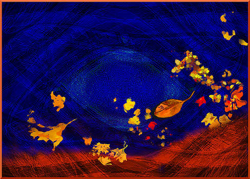 Blues In Autumn by Mathilde Vhargon