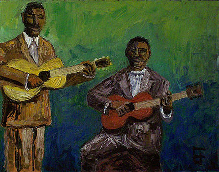 Allen Forrest - Blues Singers Frank Stokes and Furry Lewis