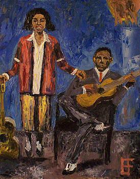 Allen Forrest - Blues Singers Memphis Minnie with Kansas Joe