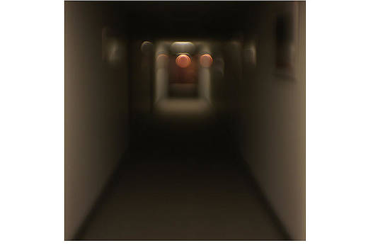 Blurred Hallway by Perry Volz
