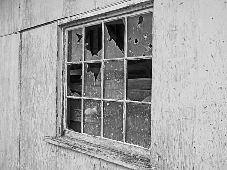 Boardwalk Window BW by Seth Shotwell