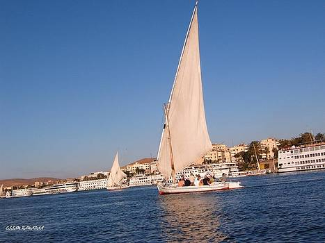 Boat 2 by Essam Ramadan