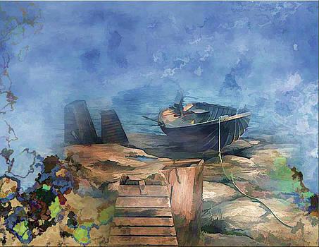 Boat Dock by Virginia Dillman