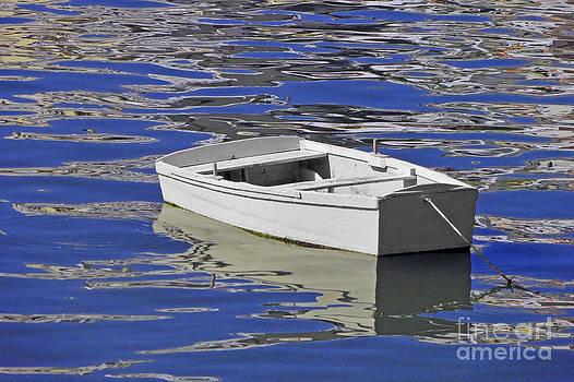 Boat In Blue by Maria Varnalis
