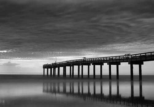 Boat in Clouds by David Mcchesney