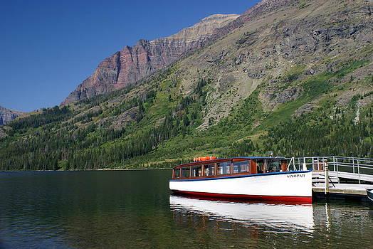 Marty Koch - Boat on Two Medicine