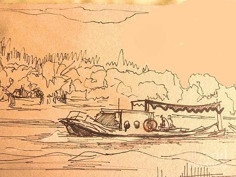 Boat by Victoria  Tekhtilova