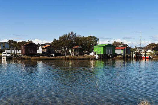 Boathouses by Graeme Knox