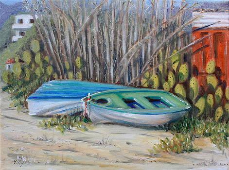 Yvonne Ayoub - Boats at Kolios