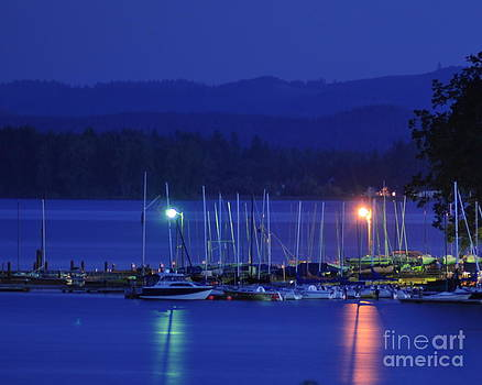 Boats At Rest by Scott Gould