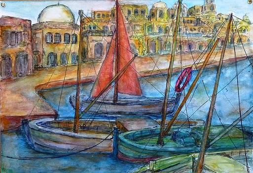 Boats by Baruch Neria-Kandel
