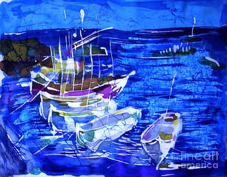 Boats by Nadejda Lilova