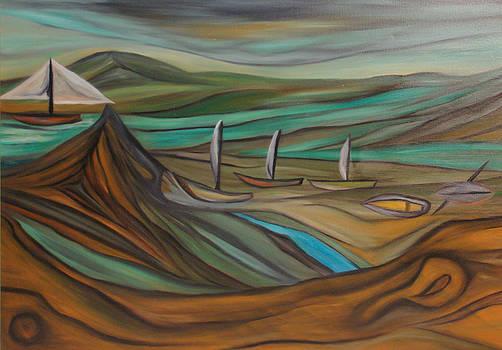 Boats by Yaron Ari