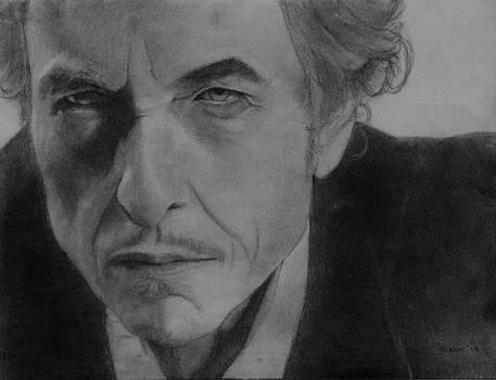 Bob Dylan 2 by Glenn Daniels