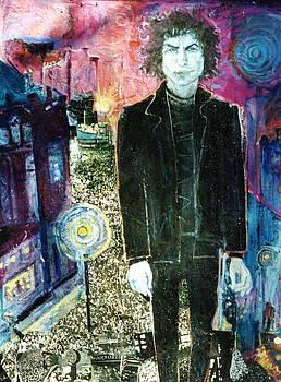 Bob Dylan by Anne Eaton Parker