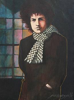Bob Dylan by J W Kelly