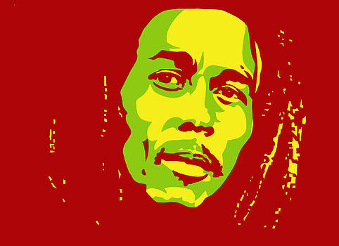 Bob Marley by Siobhan Bevans