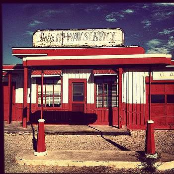 Bob's Hi-way Service #clubed #desert by Denise Taylor