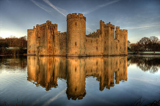 Bodiam Castle by Mark Leader