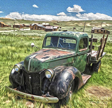 Gregory Dyer - Bodie Ghost Town - Old Truck 02