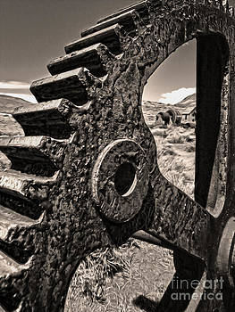 Gregory Dyer - Bodie Ghost Town - Rusted Gear