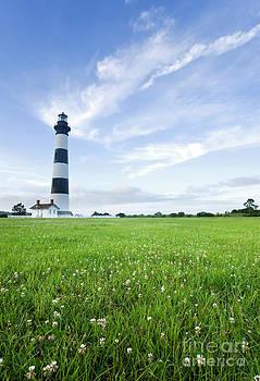 Bodie Island Lighthouse at dusk by Matt Tilghman