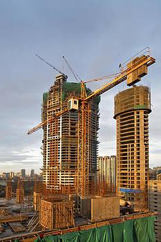 Kantilal Patel - Bombay Skyline