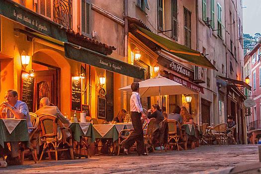 Bon Appetit Villefranche, France by Shari Whittaker