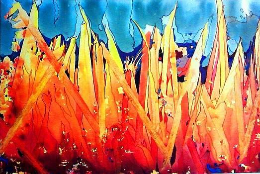 Bonfire by Vicky Shaffer White