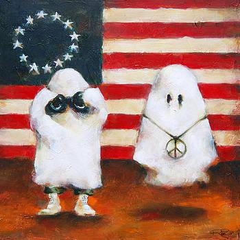 Boo Flag by Kurt Riemersma