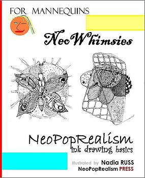 Book by NeoPopRealism PRESS by NeoWhimsies NeoPopRealism Ink Drawing Basics for Mannequins