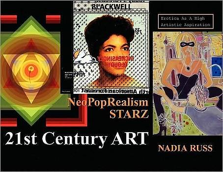 Book front cover by NeoPopRealism Starz Erotica As A High Artistic Aspiration