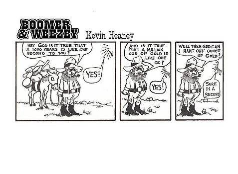 Boomer  Weezey by Kevin Heaney