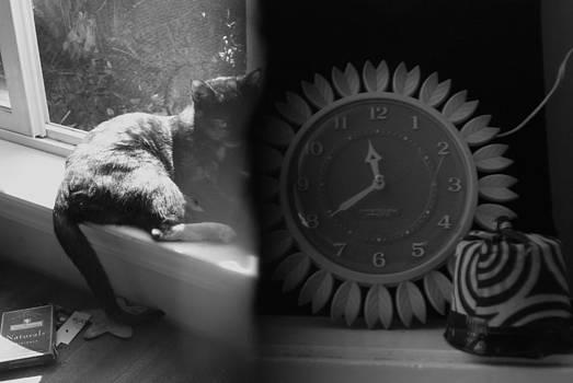 Boosh and Clock by Cynthia Jones