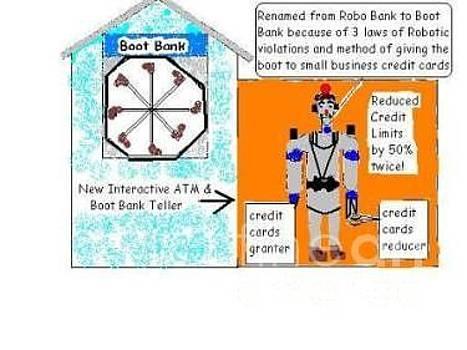 Boot Bank by John Pavon