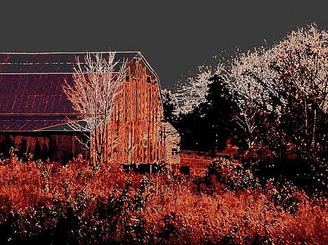 Boot Heel Barn by J R Seymour