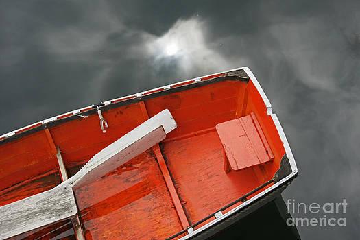 Booth Bay Boat by Maria Varnalis