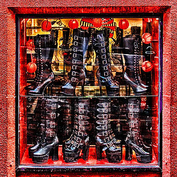 Boots Buckles Balls by John Monteath