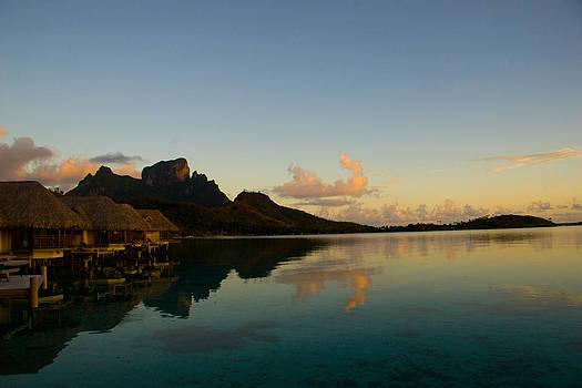 Bora Bora Dawn by Benjamin Clark