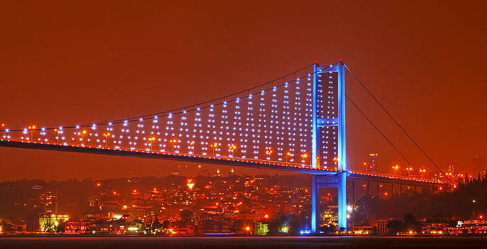 Kantilal Patel - Bosphorus NightSky Europe