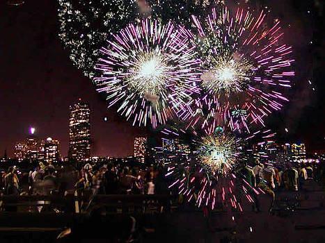 Boston Forth of July by Sasha  Grebenyuk