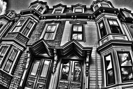 Boston Life bw by Dawn Nicoli