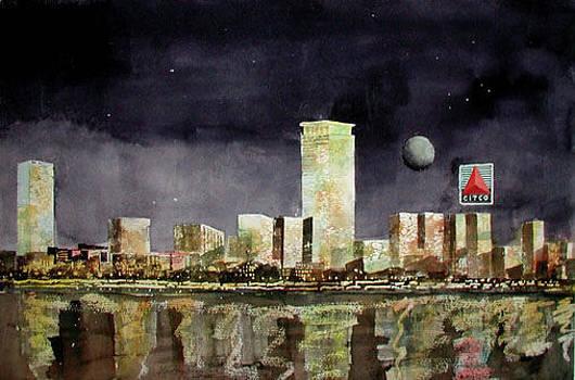 Boston Night II by Harding Bush