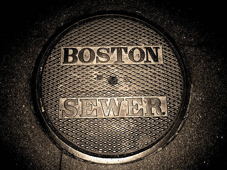 Boston Sewer by Sheryl Burns