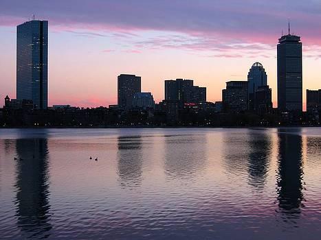 Boston Sunset by Sasha  Grebenyuk