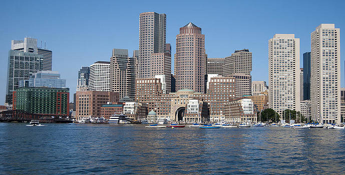 Boston Two by Peggie Strachan