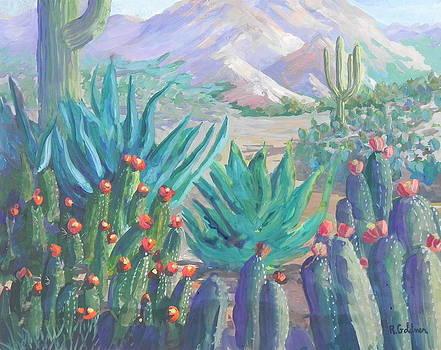 Botanical Garden Spring by Rita Goldner