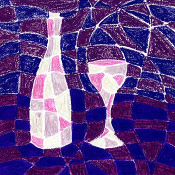 Hakon Soreide - Bottle and Glass 3