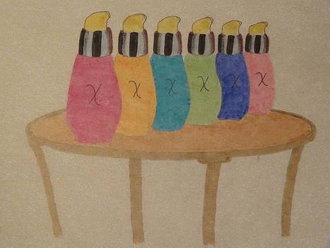 Nancy Fillip - Bottle Composition